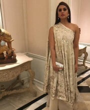 Huma Qureshi in a Manish Malhotra outfit