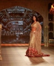 Indian Fashion Designer Manish Malhotra at Delhi Fashion Week - Katrina Kaif