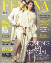Kangana and Rangoli on the Cover of Femina | Strand of Silk