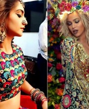 Kapoor and Beyonce Wear Indian Designers in Colyplay's New Video