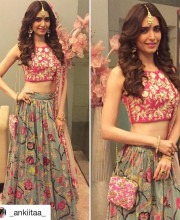 Karishma Tanna Stuns in Luxurious Lehenga