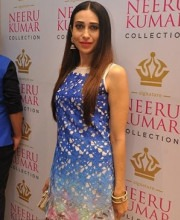 Karisma Kapoor in Neeru Kumar's Indian designer dress