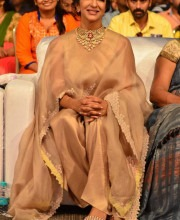 Lakshmi Manchu in Anamika Khanna at the Audio Launch of Lakshmi Bomb