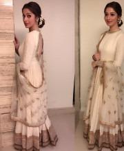 Laxmi Raai in a Sabyasachi Outfit