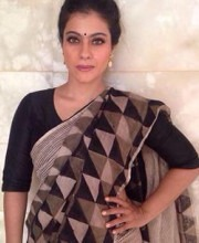 Linen Saree by Anavila Misra Made Always Kajol Look Amazing| Kajol In Anavil Misra