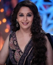 Bollywood Star Madhuri Dixit on Jhalak Dikhlaja in Roopa Vohra Jewellery
