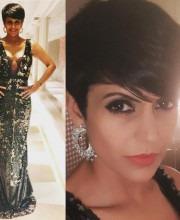 Mandira Bedi Makes An Impact in Black Sequin Dress