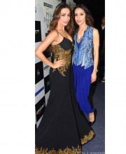 Mandira Wirk and Malaika Arora Khan at the AIFW