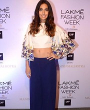 Monica Dogra Sports a Chic Look in an Embroidered Top by Manish Malhotra