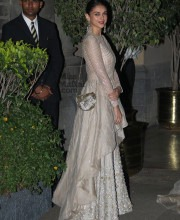 Aditi Rao Hydari in a Stunning Manish Malhotra Dress for the Royal Visit