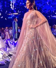 Jacqueline Fernandez on the Ramp for Manish Malhotra Spring Summer 2016