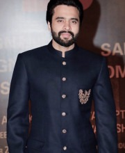 Jackie Bhagnani Looking Dapper in a Classic Black Bandhgala