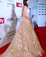 Red Carpet Style with Sophie Choudry in a Floral Manish Malhotra Gown