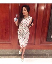 Nandini Bhalla Wears Beautiful Printed Dress