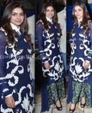 Prachi Desai in Indian Designer Nupur Kanoi's Clothes