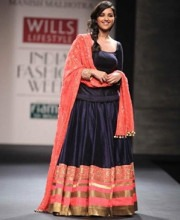 Parineeti Chopra for Indian Designer Manish Malhotra at WIFW SS 13