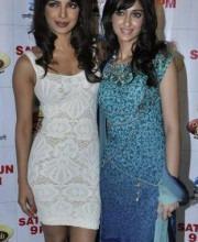 Ileana D'Cruz in a dress by Indian Designer Tarun Tahiliani