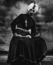 Rahul Devo JJ Valaya Outfit for Harpers Bazaar Shoot