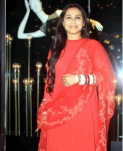Rani Mukerji in Indian fashion outfit