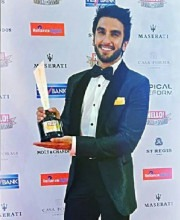 Bollywood Actor Ranveer Singh At The Hello Hall Of Fame Awards