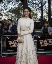 Saiyami Kher in Sabyasachi at the London Film Festival