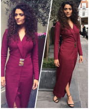 Saiyami Kher Champions the Colour Purple