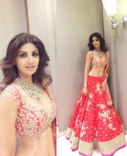 Shilpa Shetty as the Show Stopper for Anushree Reddy