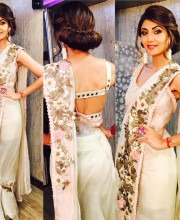 Shilpa Shetty Blooms in Anamika Khanna Outfit