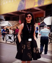 Sonal Sehgal in the Phoenix Bird Skirt from Siddartha Tytler