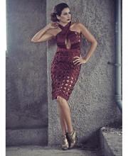 Pia Trivedi in Incredible Simply Simone Dress