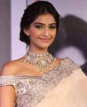 The Iconic fashion diva Sonam Kapoor in Indian designer clothes