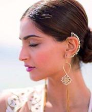 Bollywood Star Sonam Kapoor in Suhani Pittie Jewellery