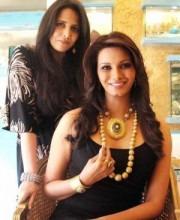 Bollywood Star Diana Hayden wears Roopa Vohra Jewellery
