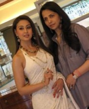 Bollywood Star Preeti Jhangiani with Roopa Vohra