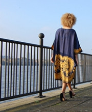 Strand of Silk creates Unique 'India Modern' Photoshoot | Canary Wharf Photoshoot