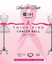 Strand of Silk Supports the 'Think Pink' Cancer Ball
