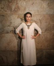 Swara Bhaskar Attends Screening in Anita Dongre Outfit