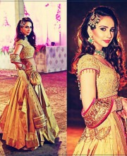 Pratishtha Rawat in a Beautiful Lehenga by Tarun Tahiliani