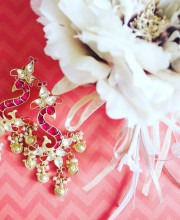 Beautifully Delicate Earrings from Urban Dhani