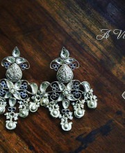 Sterling Silver Earrings from Urban Dhani