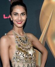 Vaani Kapoor in Indian designer Raakesh Agarvwal's dress
