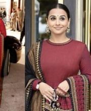 Vidya Balan in Lehgenga by Indian Designer Sabyasachi Mukherjee- Cannes