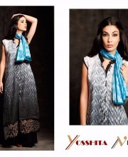 Contrast Colours for a Stylish Look from Yosshita & Neha