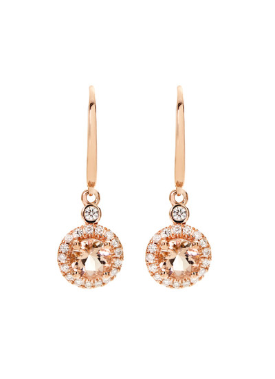 Indian Accessories Designers - Costar - Indian Fine Jewellery - Designer Earrings - SOS-AW15-CJ-RE33514P-MO - Round Cut Dangler Earrings