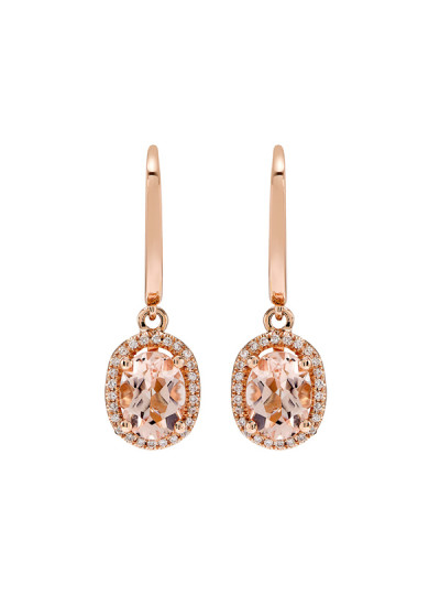 Indian Accessories Designers - Costar - Indian Fine Jewellery - Designer Earrings - SOS-SS15-CJ-RE33483P-MO - Oval Cut Stone Earrings