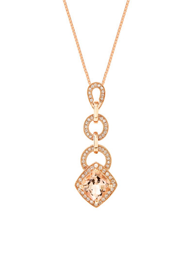 Indian Accessories Designers - Costar - Indian Fine Jewellery - Designer Necklaces - SOS-AW15-CJ-RP22320P-MO - Charming Tiered Pendant