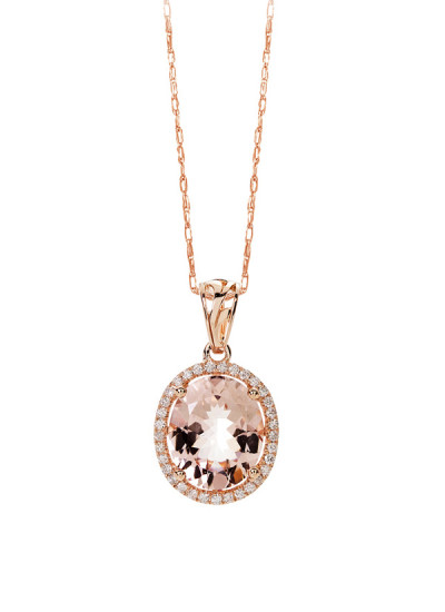 Indian Accessories Designers - Costar - Indian Fine Jewellery - Designer Necklaces - SOS-SS15-CJ-RP33453P-MO - Lovely Oval Cut Pendant
