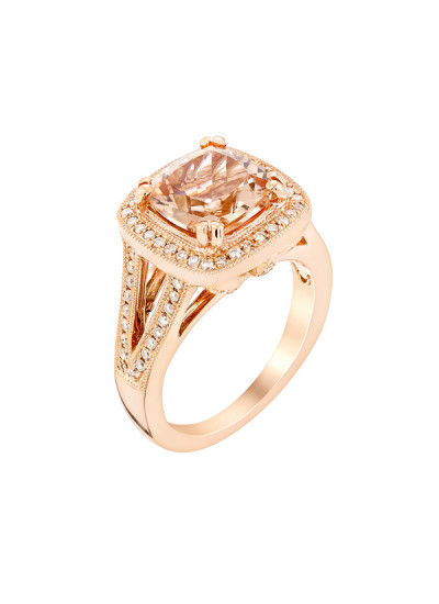 Indian Accessories Designers - Costar - Indian Fine Jewellery - Designer Rings - SOS-AW15-CJ-R11664P-MO - Lovely Cushion Shaped Ring