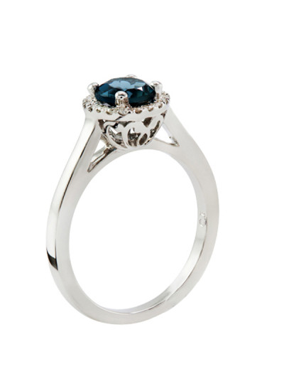 Indian Accessories Designers - Costar - Indian Fine Jewellery - Designer Rings - SOS-SS15-CJ-R11501W-LB - London Blue Topaz Ring,import-uploads/Indian Accessories Designers - Costar - Indian Fine Jewellery - Designer Rings - SOS-SS15-CJ-R11501W-LB - London Blue Topaz Ring - 2-1.jpg