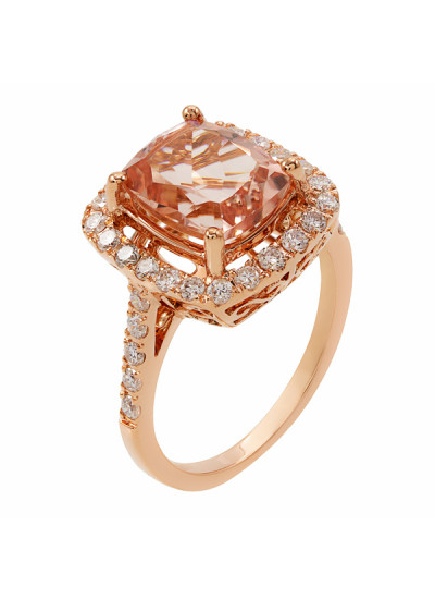 Indian Accessories Designers - Costar - Indian Fine Jewellery - Designer Rings - SOS-SS15-CJ-R11516P-MO - Gorgeous Cushion Shaped Ring